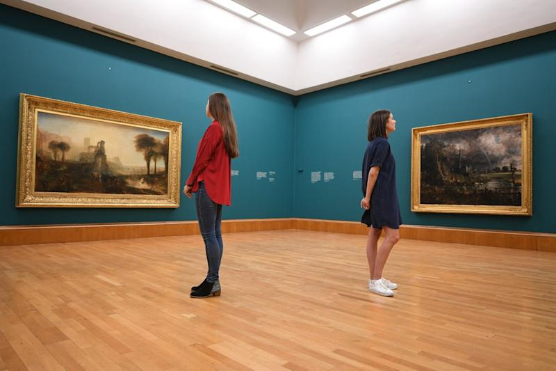 Rivals reunited: The two painters' rivalry peaked in 1832 at a Royal Academy exhibition: Jeremy Selwyn