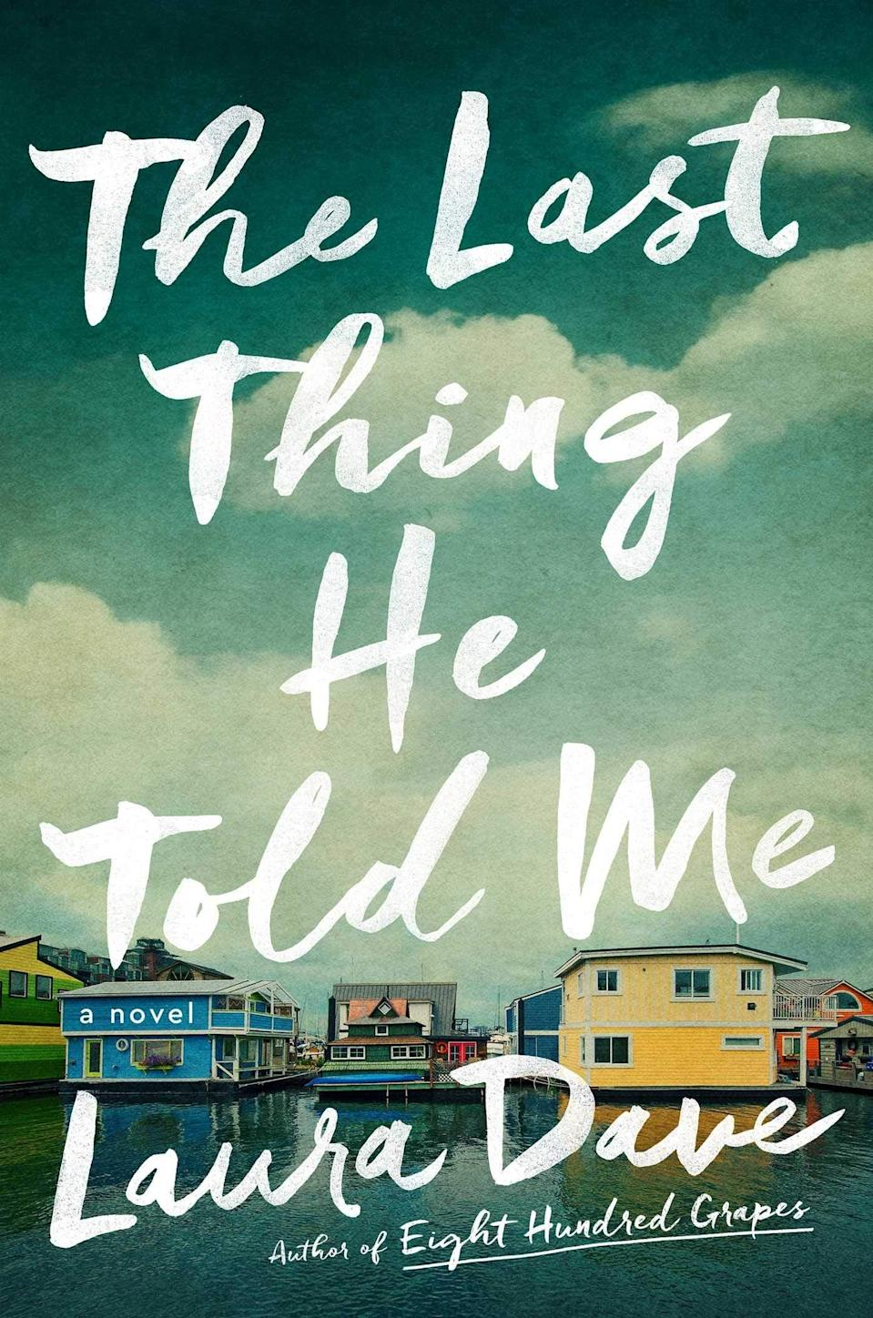 """<p>Part mystery, part family drama, <span><strong>The Last Thing He Told Me</strong></span> by Laura Dave is impossible to put down. When Hannah Hall's husband of just one year disappears, he leaves a note begging his wife to """"protect her."""" Hannah quickly surmises the her in question is her husband's 16-year-old daughter, who may hold the key to unraveling his secret past. (This one is set to become a <a href=""""https://www.popsugar.com/entertainment/the-last-thing-he-told-me-by-laura-dave-interview-and-review-48292118"""" class=""""link rapid-noclick-resp"""" rel=""""nofollow noopener"""" target=""""_blank"""" data-ylk=""""slk:miniseries starring Julia Roberts"""">miniseries starring Julia Roberts</a> soon, so you're going to want to read it ASAP.)</p> <p><em>Out May 4</em></p>"""