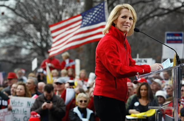 Fox host Laura Ingraham mocked Stoneman Douglas student David Hogg on social media. (Photo: Getty Images)