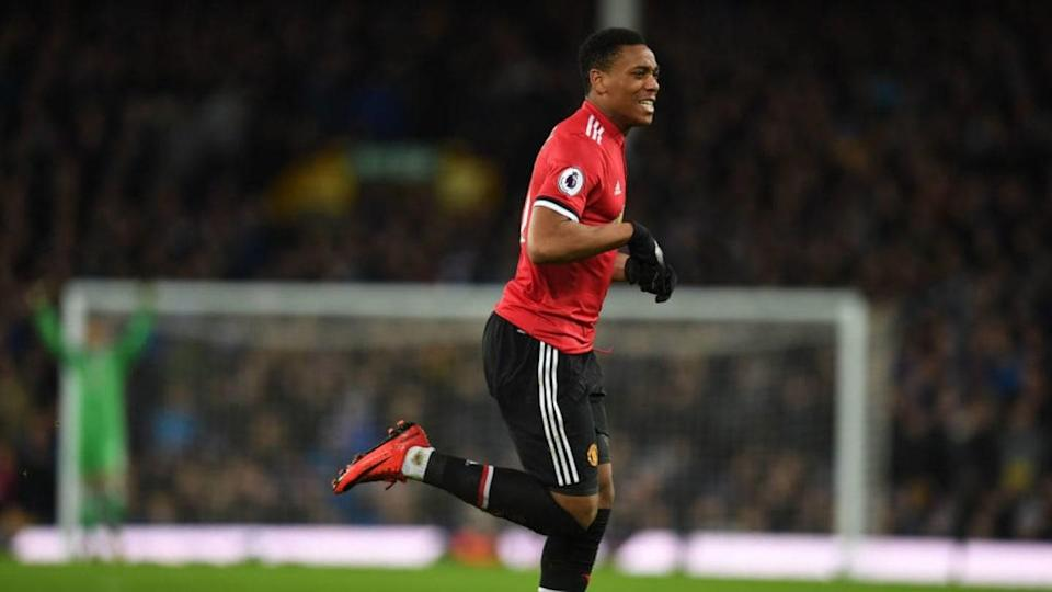Anthony Martial | PAUL ELLIS/Getty Images