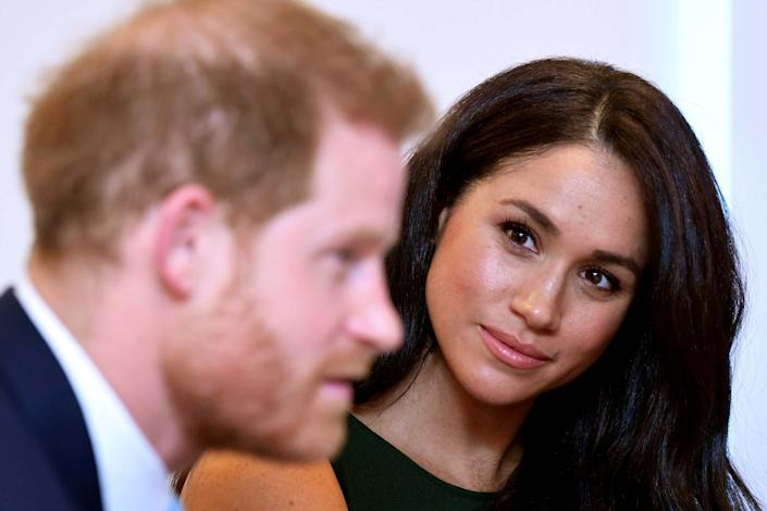 Meghan and Harry are set to close their Buckingham Palace office, it has been reported (REUTERS)