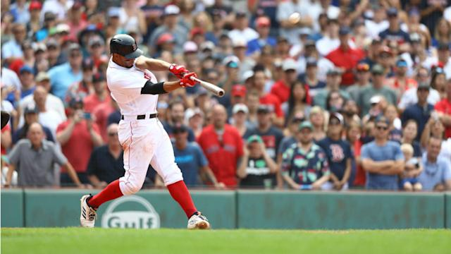 Bogaerts blasted a grand slam in the bottom of the 10th inning to give Boston a 6-2 victory over Toronto at Fenway Park.