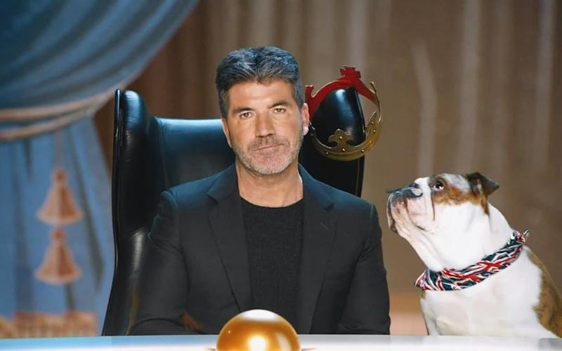 Man at the top: Simon Cowell