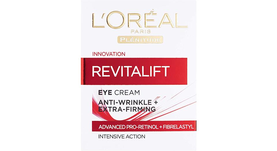 L'Oreal Paris Revitalift Anti Wrinkle + Firming Pro Retinol Eye Cream