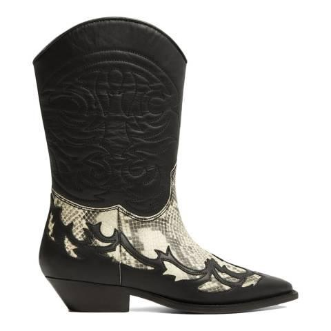 """<br><br><strong>Mango</strong> Black Leather Dalton Ankle Boots, $, available at <a href=""""https://www.brandalley.co.uk/17081396.html?"""" rel=""""nofollow noopener"""" target=""""_blank"""" data-ylk=""""slk:Brand Alley"""" class=""""link rapid-noclick-resp"""">Brand Alley</a>"""