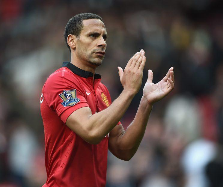 Manchester United and England defender Rio Ferdinand was banned for eight months after missing a drugs test in September 2003. The ban, which began in January 2004 caused him to miss half a Premier League season and Euro 2004. (Photo by Laurence Griffiths/Getty Images)