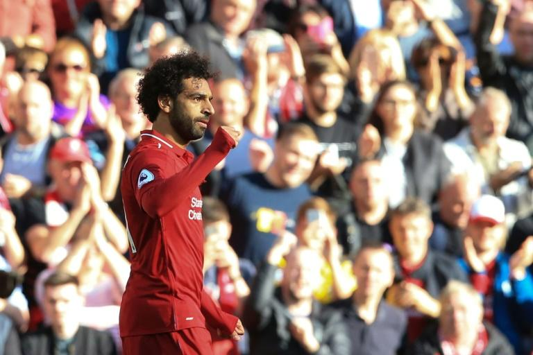 Second season slump: Mohamed Salah is struggling to match his fantastic form for Liverpool last season