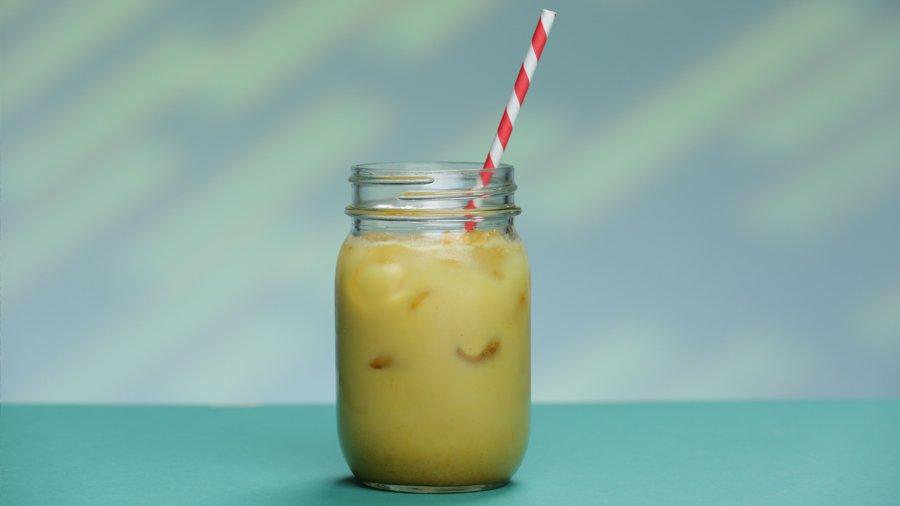 "<a href=""https://www.popsugar.com/fitness/Iced-Golden-Milk-Recipe-41448216?utm_medium=partner&utm_source=yahoo&utm_campaign=feed&utm_content=link_0""><img width=""1456"" height=""1456"" src=""https://media1.popsugar-assets.com/files/thumbor/GjjCA8J4UFmJD14c-mBNhUEbM_o/fit-in/2048xorig/filters:format_auto-!!-:strip_icc-!!-/2016/05/27/725/n/1922729/ec03fa13_edit_img_image_41448216_1464224980_SQUARE_1456x1456.jpg"" /></a><p>There are so many ways to incorporate <a href=""https://www.popsugar.com/fitness/Turmeric-Health-Benefits-14806916?utm_medium=partner&utm_source=yahoo&utm_campaign=feed&utm_content=link_1"" >turmeric</a> into your diet, like delicious <a href=""https://www.popsugar.com/fitness/Slow-Cooker-Vegan-Chickpea-Curry-34162942?utm_medium=partner&utm_source=yahoo&utm_campaign=feed&utm_content=link_2"" >yellow curry</a>. But you can also reap the benefits of this spice, like easing muscles soreness after a hard workout, with this tasty iced version of golden milk. And it's so easy to make! Watch this video to learn how to whip up our new favorite recovery drink.</p> <p><div class=""related-stories"">Related<br/><a href=""https://www.popsugar.com/fitness/Breakfast-Smoothies-Weight-Loss-32187321?utm_medium=partner_feed&utm_source=msn&utm_campaign=related+link&utm_source=yahoo&utm_campaign=feed&utm_content=link_3"">Lose Weight Faster With One of These 12 Breakfast Smoothies</a></div></p>"