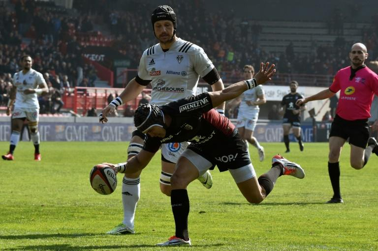 Toulouse jumped into an early lead with a try by South Africa winger
