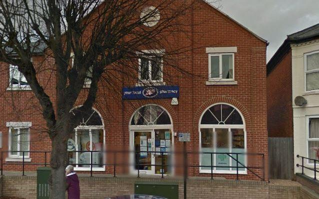 The pack of medication was assembled at the Boots branch in Felixstowe before being sent to Douglas Lamond - Credit: Google Street View