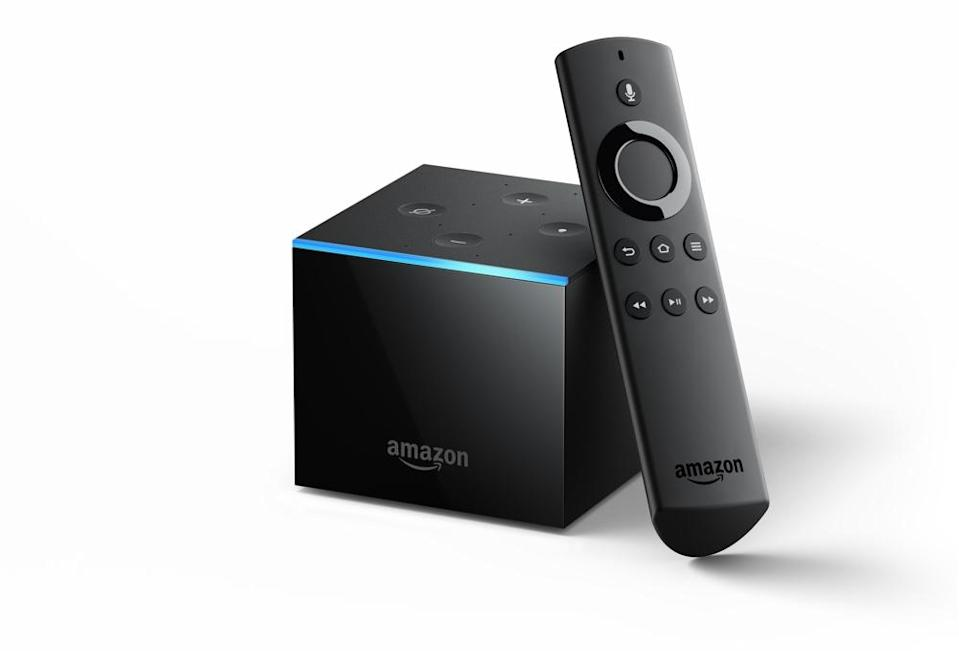 You can navigate the Fire TV Cube with a your voice, but if you don't feel like talking to your TV, you can always rely on your trusty remote.