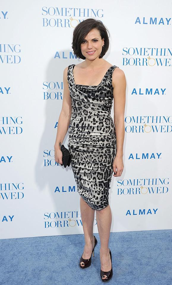 """<a href=""""http://movies.yahoo.com/movie/contributor/1808898143"""">Lana Parrilla</a> attends the Los Angeles premiere of <a href=""""http://movies.yahoo.com/movie/1810158033/info"""">Something Borrowed</a> on May 3, 2011."""