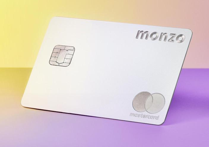 The Monzo Premium card. Photo: Monzo