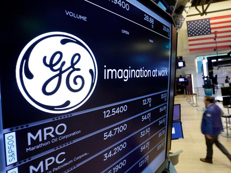General Electric GE trading floor nyse