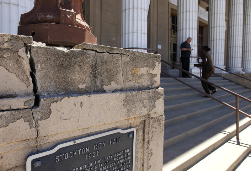 Pension issue in Stockton, Calif., bankruptcy