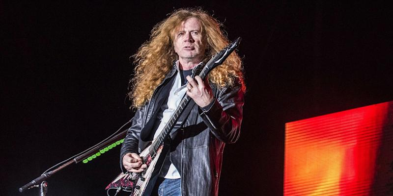 Megadeth's Dave Mustaine opens up on cancer battle, reconnects with James Hetfield