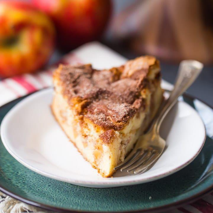 "<p>This traditional Jewish apple cake is made richer and creamier with cream cheese. Brown butter imparts a nutty flavor just right for the season. Instead of a bundt, bake this one in a springform pan for a different twist on the shape.</p><p><em><a href=""https://bakingamoment.com/brown-butter-cream-cheese-jewish-apple-cake/"" rel=""nofollow noopener"" target=""_blank"" data-ylk=""slk:Get the recipe for brown butter cream cheese Jewish apple cake"" class=""link rapid-noclick-resp"">Get the recipe for brown butter cream cheese Jewish apple cake</a></em></p>"
