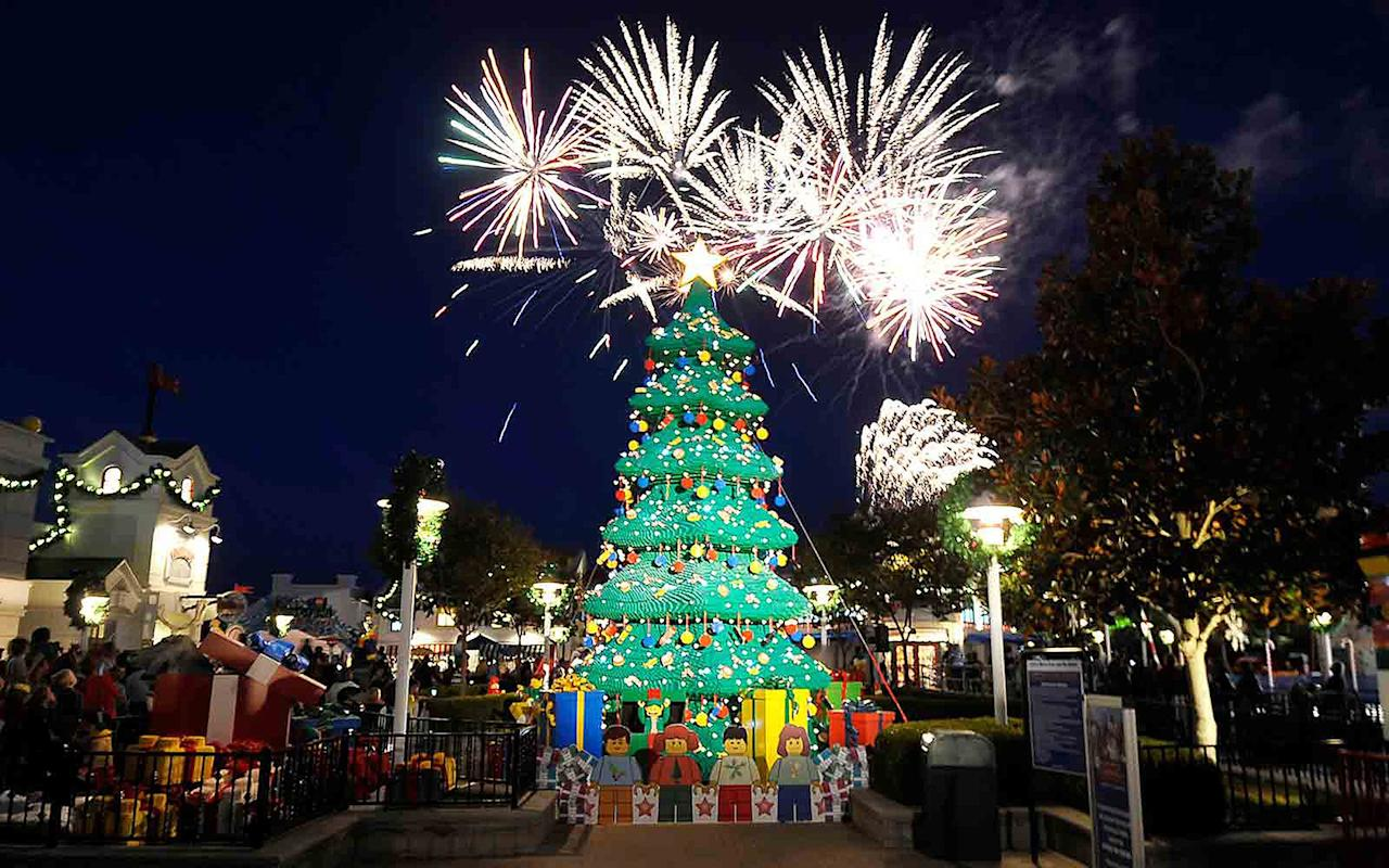 "<a href=""http://www.travelandleisure.com/holiday-travel/worlds-strangest-christmas-trees""><em>This article originally appeared on Travel + Leisure. </em></a> <p>Using 245,000 forest green Duplo bricks, LEGOLAND in California creates a 30-foot-tall Christmas tree every year. The festive display is often accompanied by life-size LEGO reindeer, a sleigh, and a jolly LEGO Santa. Sorry, kid. This one is better.</p>"