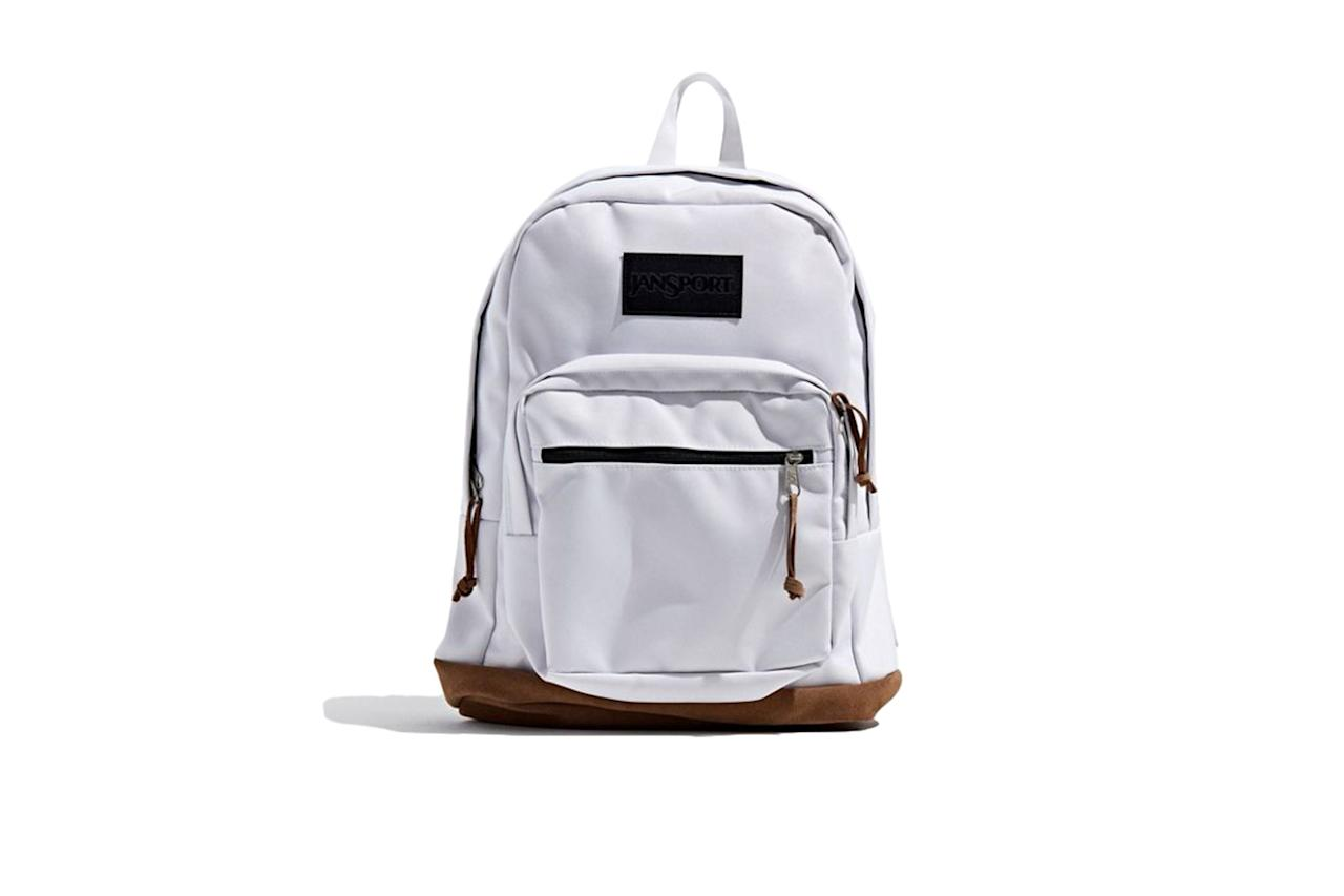 "$60, Urban Outfitters. <a href=""https://www.urbanoutfitters.com/shop/jansport-right-pack-backpack3?category=mens-bags-wallets&color=006&type=REGULAR"">Get it now!</a>"