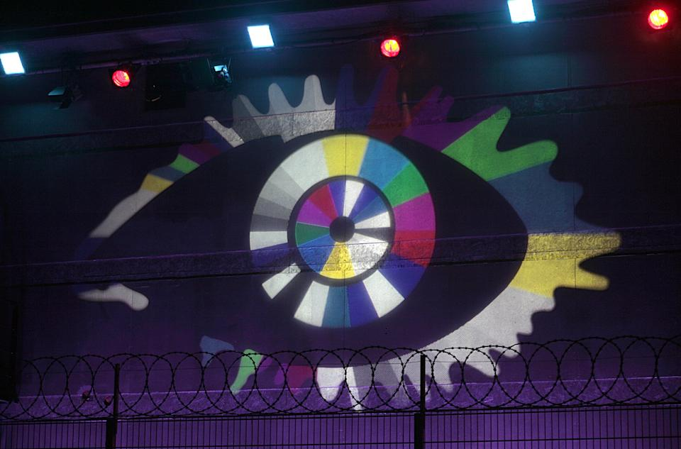 A view of the Big Brother logo on the house at Elstree Studios, Borehamwood, Hertfordshire.   (Photo by Rebecca Harley - PA Images/PA Images via Getty Images)