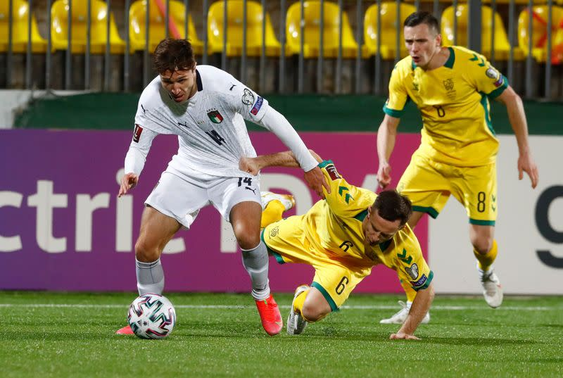 World Cup Qualifiers Europe - Group C - Lithuania v Italy