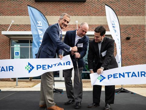 Pentair Opens New Innovation Center to Advance Smart, Sustainable Water Solutions