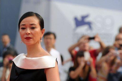 """Korean actress Cho Min-Soo arrives for the screening of """"Pieta"""" at the 69th Venice Film Festival on September 4 at Venice Lido"""