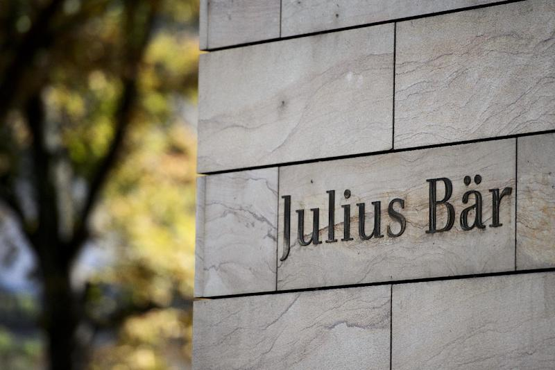 A branch of private Swiss banking group Julius Baer in Geneva, August 27, 2012