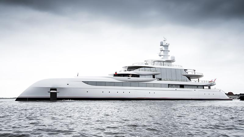 Abeking & Rasmussen's 262-foot yacht Excellence
