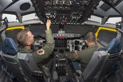 CAE USA recently won the recompete of the U.S. Air Force KC-135 Aircrew Training System contract and will continue providing training to more than 4,500 KC-135 crewmembers annually. (CNW Group/CAE INC.)