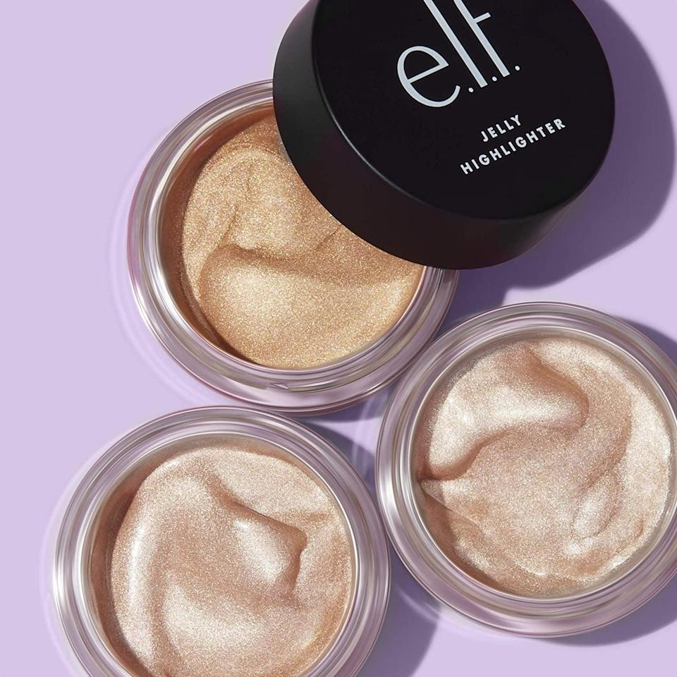 <p>Get that dewy illuminating look with this long-wearing <span>e.l.f, Jelly Highlighter</span> ($6).</p>