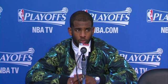 Chris Paul nearly tearful in Clippers' first home game since Donald Sterling's racist remarks