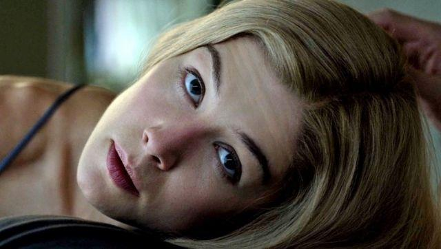 Rosamund Pike in a still from Gone Girl. Image from Twitter