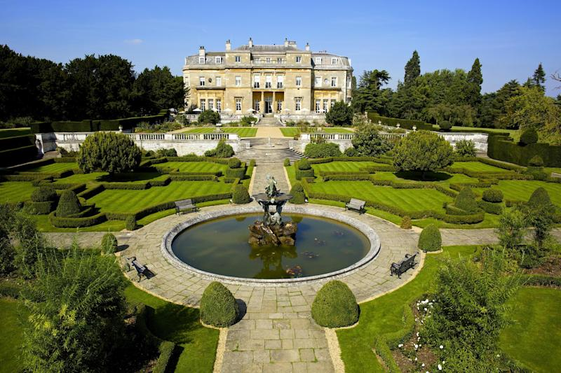 The spectacular grounds of Luton Hoo were laid out by Capability Brown: Photos by Petra Clayton/Whittlebury Custard