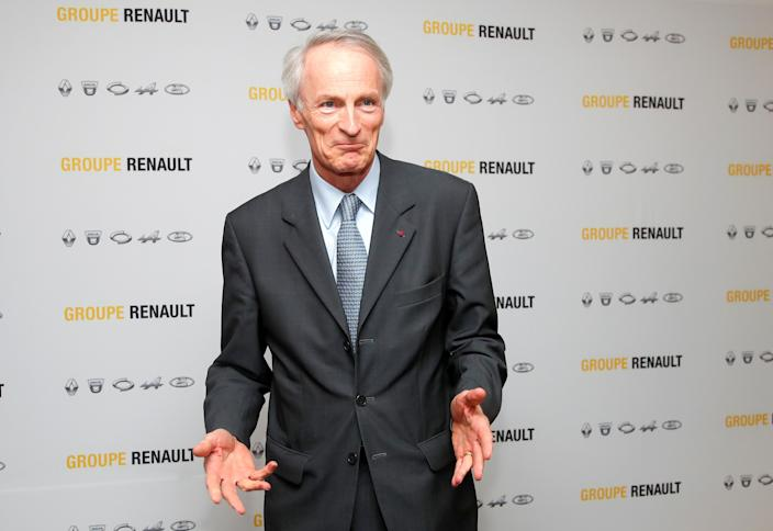 Chairman of Renault Jean-Dominique Senard has denied that the French carmaker's alliance with Nissan is on the rocks. Photo: Charles Platiau/Reuters