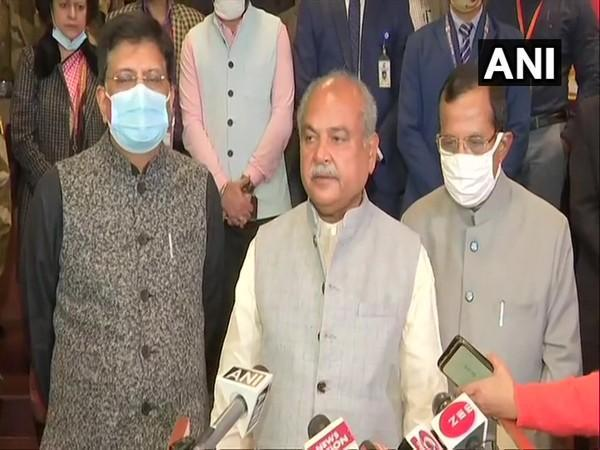 Union Minister Narendra Singh Tomar (Photo/ANI)
