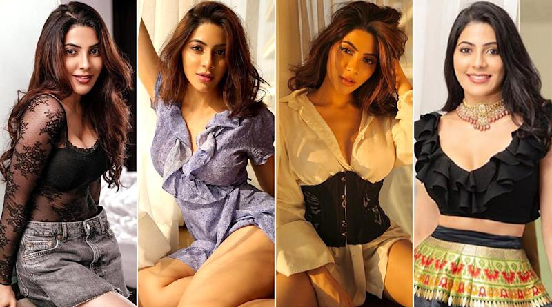 Nikki Tamboli in Bigg Boss 14: 10 Sexy Pics of the Sizzling South Actress That Will Raise the Heat!