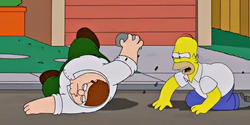 Simpsons/Family Guy crossover