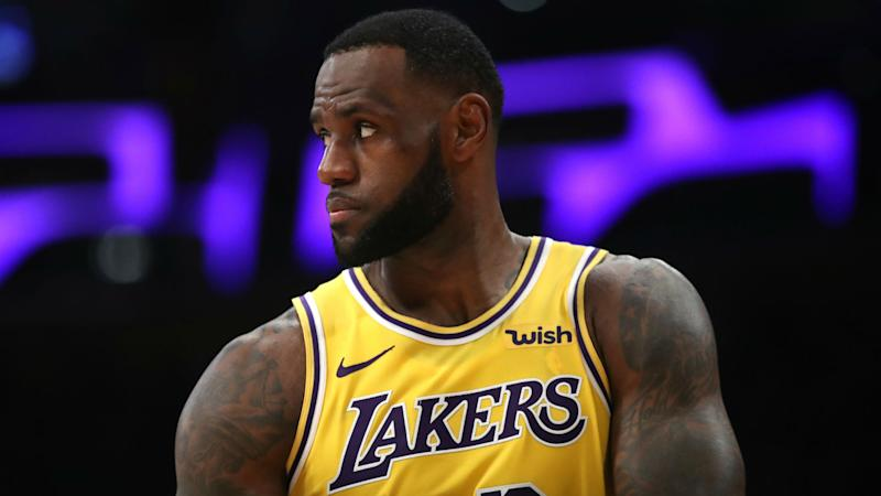 Lakers fans protest outside Staples Center to vent anger at team executives