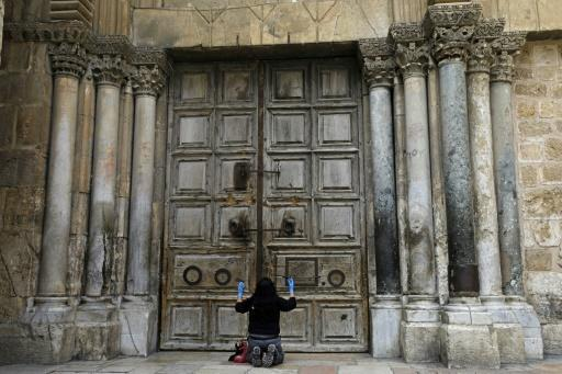 The Holy Sepulchre church in Jerusalem where Christians believe Jesus was crucified, buried and resurrected will reopen on Sunday two months after its closure in March amid the coronavirus pandemic but strict hygiene measures will be enforced