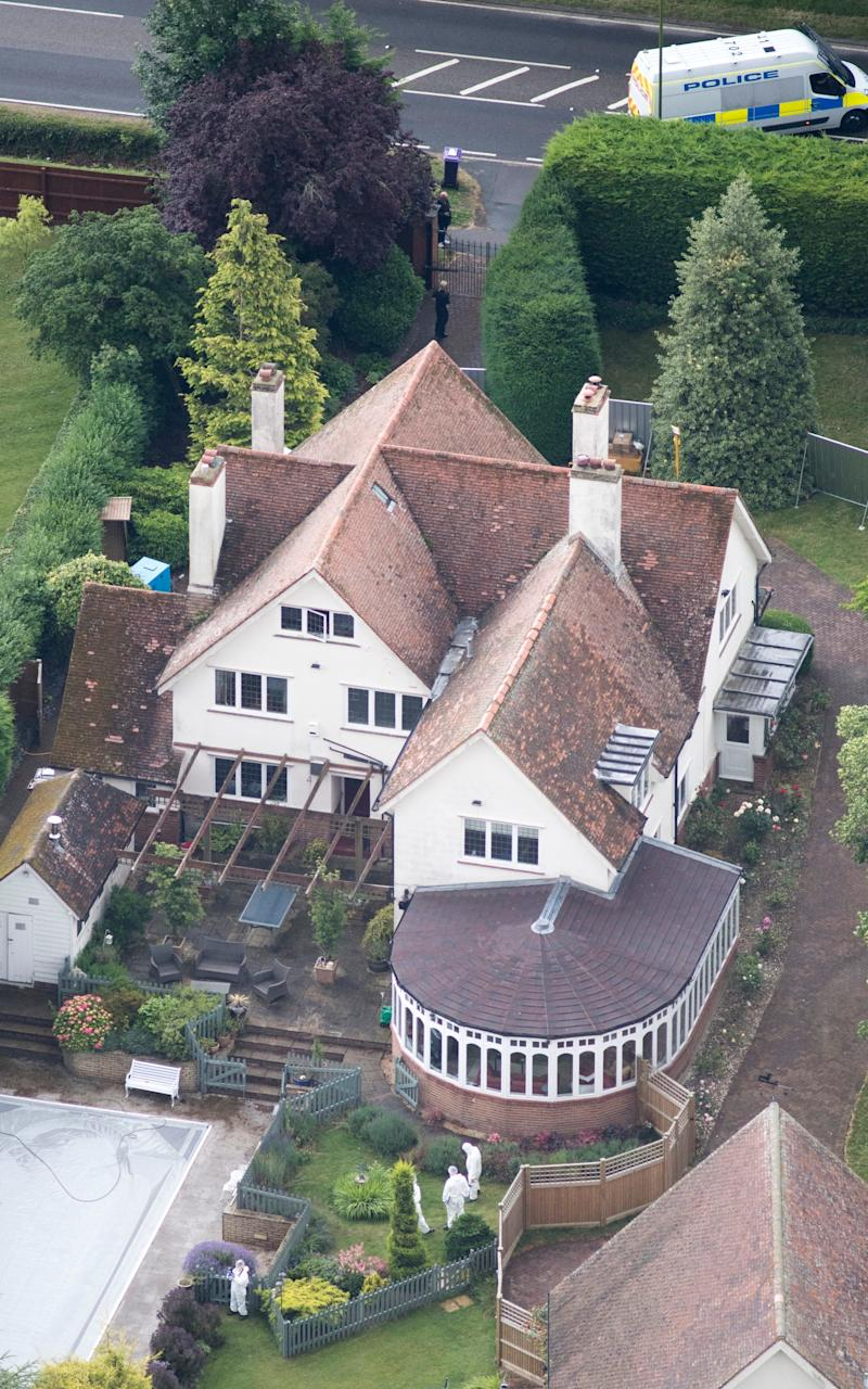 Helen Bailey and Ian Stewart lived in a sprawling £1.5 million house in Royston, Hertfordshire - Credit: John McLellan