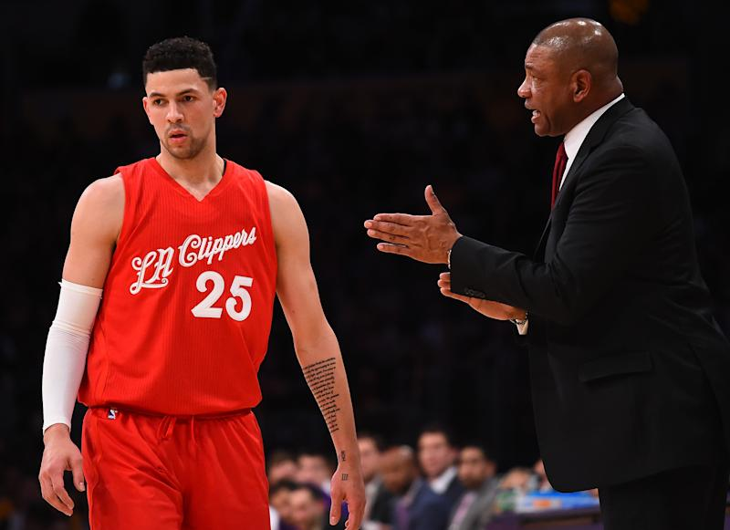 LA Clippers send Austin Rivers to Washington Wizards for center Marcin Gortat