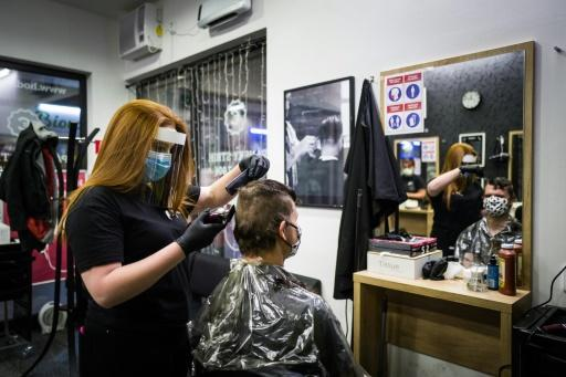 The first stop for many after the easing of the lockdown in Bratislava was a trip to the hairdresser