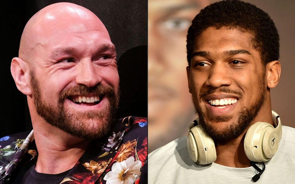 Tyson Fury announces August 14 date for Anthony Joshua fight - but final contracts not signed - AFP