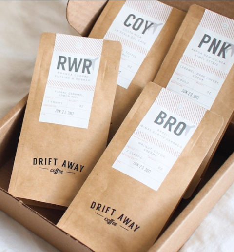 "<p>This subscription service personalizes the coffee to the receiver's taste!</p><p><a rel=""nofollow"" href=""https://driftaway.coffee/coffee-subscriptions/"">BUY NOW</a>: $16</p>"