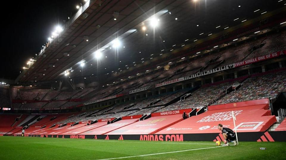Una vista di Old Trafford vuoto   Laurence Griffiths/Getty Images