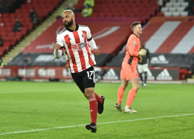 The Blades led before eventually losing 3-2 against Manchester United in December