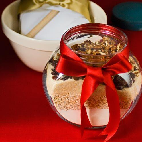 """<p>A beautifully presented DIY biscuit mix makes a thoughtful home-made gift.</p><p><strong>Recipe: <a href=""""https://www.goodhousekeeping.com/uk/food/recipes/the-ultimate-biscuit-mix?click=main_sr"""" rel=""""nofollow noopener"""" target=""""_blank"""" data-ylk=""""slk:The ultimate biscuit mix"""" class=""""link rapid-noclick-resp"""">The ultimate biscuit mix</a></strong><br><br></p>"""