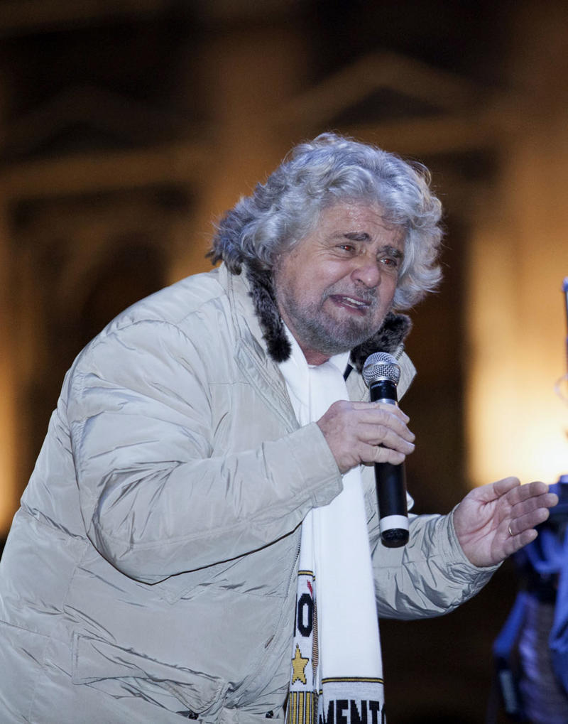 Comic's protest movement shakes up Italy election