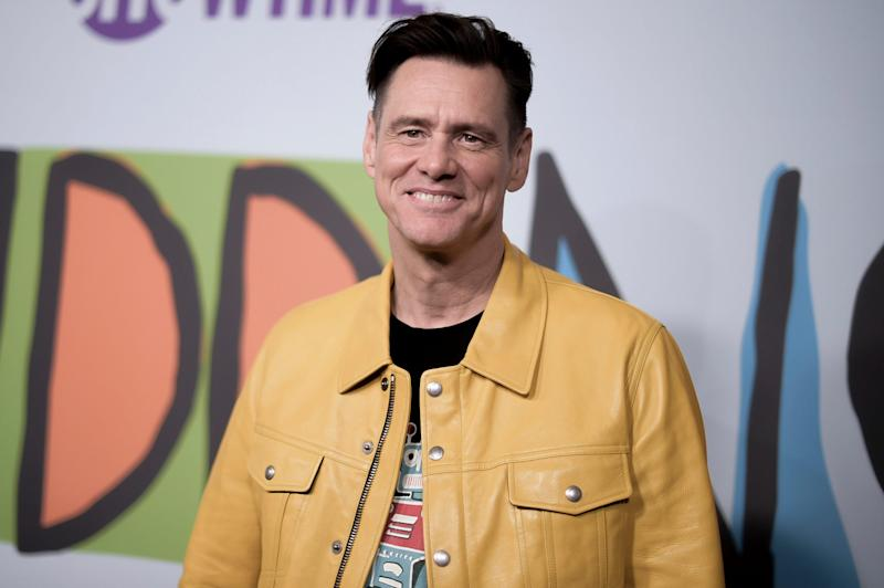 Jim Carrey is working on a novel called